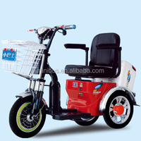 High Good Quality 3 Wheel/3-wheel Electric Mobility Scooter With Sunny Roof