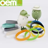 OEM design various ultra soft texture silicone bracelet