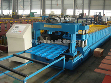 full automatic galvanized steel sheet lm-1100 glazed tile roll forming machine