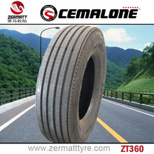 Latest technology precision semi truck tire for sale 295/75r22.5