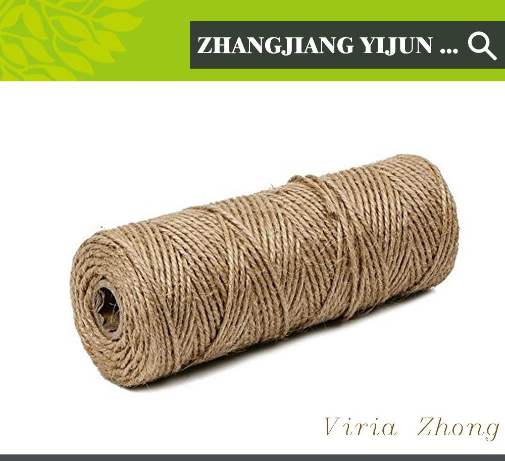 manila cuerda de yute cuerda de manila de yute guita hilo de camo para la artesana - Cuerda De Yute