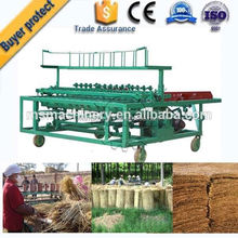 Best selling Agricultural recycling bamboo/straw/grass mat knitting machine