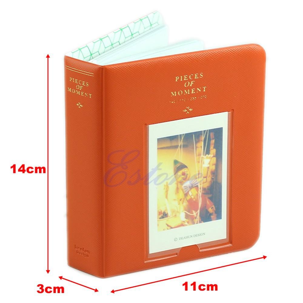 l109fashion фотоальбом для polaroid альбом случае мини-фильм размер 64 карманы