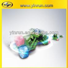 yinrun new product spider tumbler plastic car juguetes