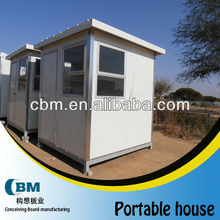 portable small security guard house for Africa -2