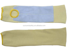 Style Kevlar Sleeve with Leather Patch