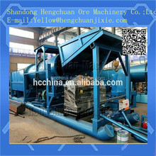 gold processing machine exported
