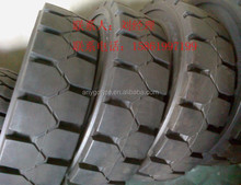 12.00-20 XZ01 Access Platform Vehicle wheels , forklift solid tire/ tyre. solid resilient tyre / tires for Terex Fuchs MHL 350