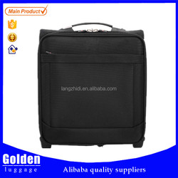 classical style air travelling bags 17'' men's business travel luggage four universal wheels carry-on trolley luggage