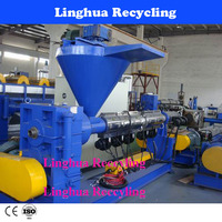 Pvc Plastic Granule Making Machine For Cable And Wire