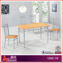 1202-1S Factory Price Hot Sale Cheap and modern style Home Furniture dining table set