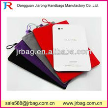 Simple design Flannel Luxury Carrying Cell Phone bags