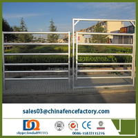 china supplier - galvanized livestock goat panel / sheep panel / cattle panel