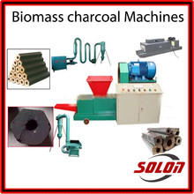 2015 hot selling High-end log/wood briquette machine and coal/charcoal/mineral powder briquette maker for sales