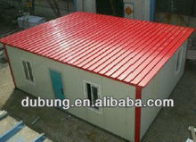 cheap single roof prefab home for store/guard room