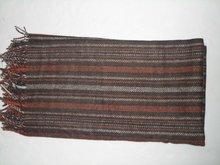 fashion pashmina shawl ,striped pattern fashion scarf ,novelty plaid scarf .selling hot scarf