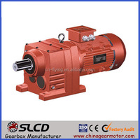 Professional Manufacturer of R In Line Helical Motor Geared Speed Reduction Box For Machinery in China