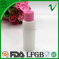 sample free mini biodegradable cosmetic perfume plastic jars flip top lids 30ml