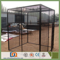 Wire Dia 3.0-4.0mm Hot Galvanized Large Dog Cage