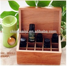 customized multi compartment wooden tea storage packaging chest hot sale