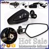 BJ-RM-061 Kawasaki Ninja 250 300 Black CNC Aluminum Motorcycle Rearview Mirror