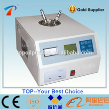 Portable transformer oil Loss Tester dedicated to insulating oil liquid medium of dielectric loss angle and volume resistivity