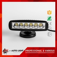 Hot Selling High Standard Super Price Ip67 Universal 18W Led Work Light Bar