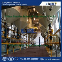 Supply Corn Oil, Rice Bran Oil, Sunflower Oil Winterization Dewaxing Production Line oil refining machine with CE-SINODER Brand
