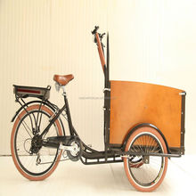 dutch style 3 wheel electric cheap price cargo tricycle bike for sale