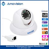 QD500 HD 720P ONVIF H.264 P2P mini & ip security camera box