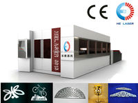 HECF3015IIWJ Fiber Laser Cutter with water cooling system