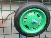 solid air pneumatic rubber wheel_ foam wheel_ solid wheel