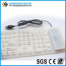 silicone keyboard for laptop dell inspiron silicone keyboard with touchpad silicone rubber keyboard
