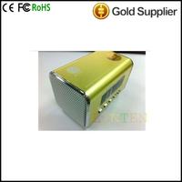 """TAICHEN TC-FSP1000 Portable 1.5"""" Screen Media Player Speaker w/ TF / FM - Blue Free Delivery Mini Speaker"""