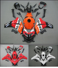 Fairing kit for CBR1000RR 2008-2009 08-09 motorcycle bodywork Customer painting acccepted