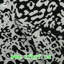 2015 fashion Sexy Leopard jacquard fabric china supplier