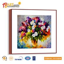 2015 new design beautiful decorative flower painting