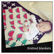 Embroidered Knitted Baby Blankets