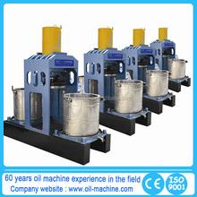 Easy operated screw coconut oil expeller machine