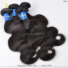 2015 Hot Selling Trade Assurance Fast Shipping Tangle Shedding Free Human Hair Beyonce Weaving