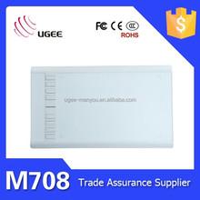 UGEE M708 keyboard shortcuts artist design Digital Color Graphic Tablet
