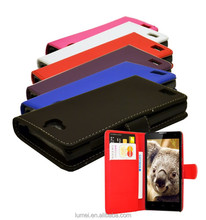 Protective PU Leather Wallet Phone Case Cover For Huawei Honor 3C