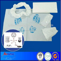 Disposable Car Clean Sets 5 in 1 for Used Car Sales