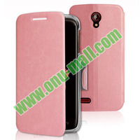 Hot Selling mobile phone case for Lenovo S820 with Holder