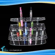 China Wholesale Acrylic Electronic Cigarette Free Standing Display Cases