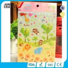 wholesale custom high quality dome resin sticker for scrapbook