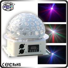 sihirli kristal disko topu ışık 12v