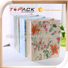 small reusable recycled shopping bags wholesale