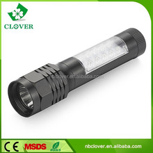 17+1 watt promotional waterproof pocket led flashlight