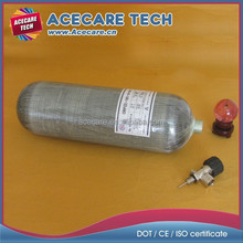 EEBD (Emergency escape breathing apparatus) tank, Carbon fiber scuba tank, 9L high pressure composite gas cylinder